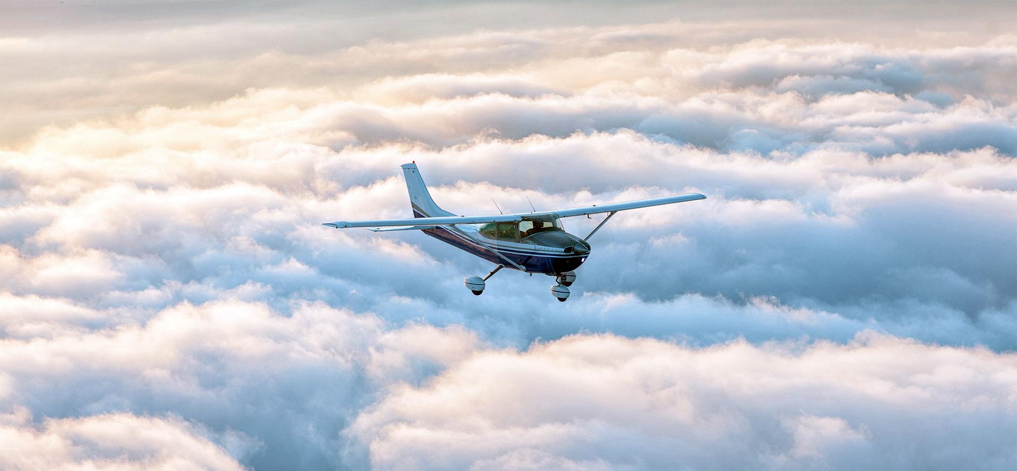 Flugzeug Rundflug Zürich