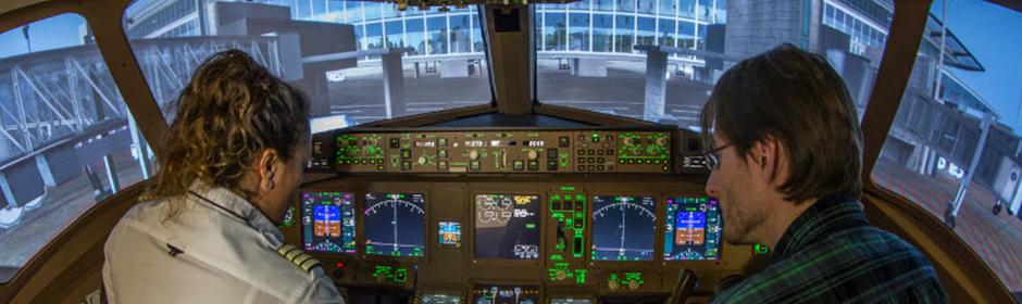 Flugsimulator Boeing 777